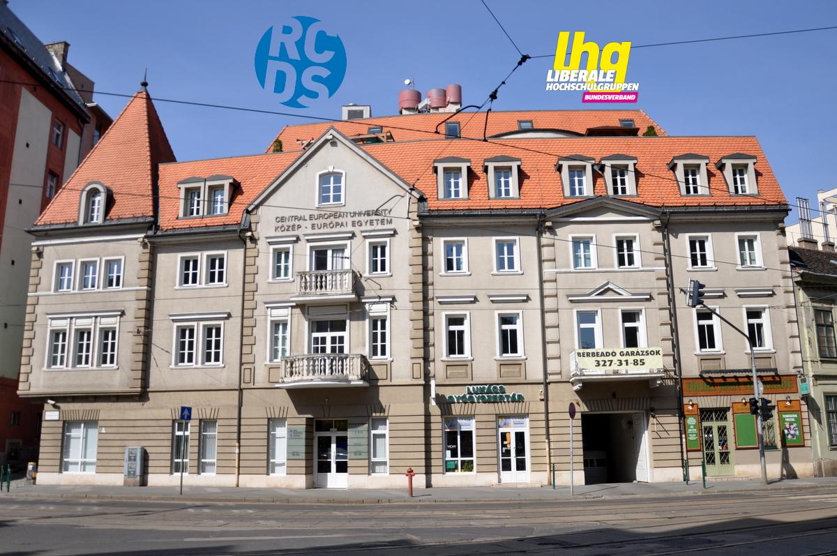 Solidarität mit der CEU Budapest – für die Freiheit der Wissenschaft
